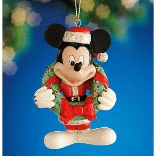 2011 Disney Mickey Mouse Ear Christmas Ornament Baby