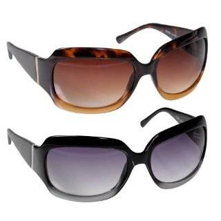 Kenneth Cole Reaction Sunglass Solid Black / Shiny Silver