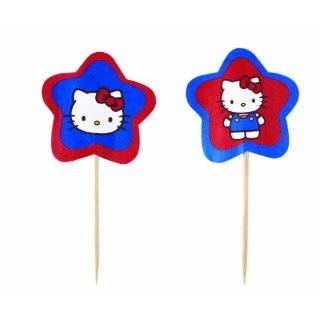 Wilton Hello Kitty Paper Fun Picks, Set of 24