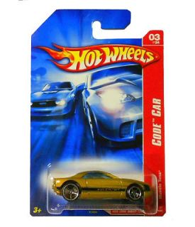 Hot Wheels Code Car Muscle Tone 1 64 Diecast Car