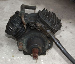 RARE 1958 Cadillac Air Suspension Level Air Compressor Pump Tank