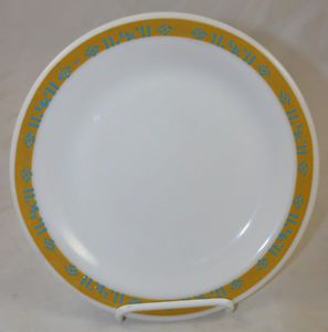 "Anchor Hocking Fire King 350 Glass Restaurant Ware LK Logo 9"" Dinner Plate"