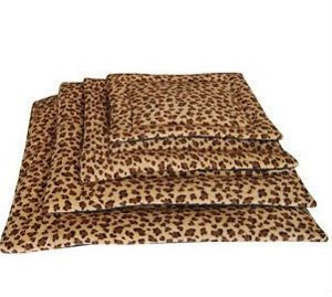 New Leopard Tiger Print Pet Dog Cat Cushion Bed Sheet Washable Cage s M L XL