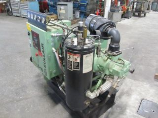 Sullair 40 H P Rotary Air Compressor 151 CFM 3 Phase