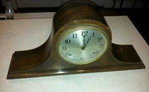 "Antique Sessions ""Berkeley"" Large Mantle Clock Key Wind Pendulum"