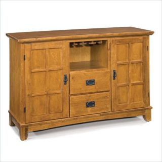 Home Styles Arts Crafts Dining Buffet Cottage Oak