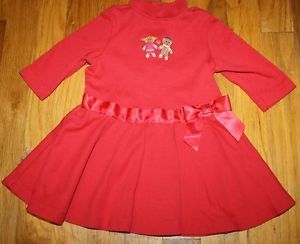 Gymboree Baby Girl Dress Clothes Winter Christmas Sz 3 6M Gingerbread