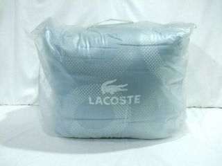 Lacoste Orion Soft Blue Full Queen Comforter Set