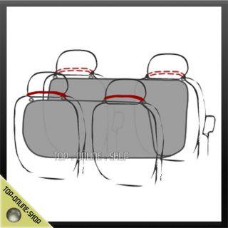 Rear Back Car Seat Cover Protector Pet Dog Cat Blanket