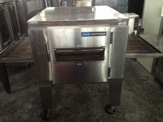 "Lincoln Impinger 1452 000 U Electric Conveyor Pizza Oven 30"" Deep Belt"