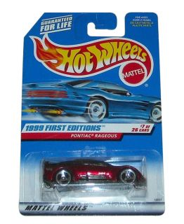 Hot Wheels Pontiac Rageous Diecast Car