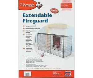 Clippasafe Extendable Fireguard Baby Child Toddler Home Safety Proofing BN