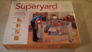 Superyard XT 8 Panel Play Yard Pen Gate Baby Pet Dog