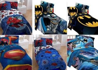 Kids Boys Girls Twin Bedding Set Comforter Sheet Set Bed in A Bag