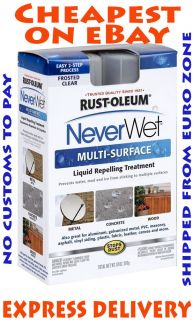 Never Wet Rust Oleum 18 oz Neverwet Multi Purpose Spray Kit SHIP World Wide