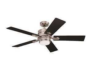 "Emerson Fans CF880BS 54"" Amhurst Ceiling Fan with Remote Control and Light Kit I"