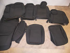 New Seat Covers Set Dodge Challenger 2010 2011 Factory Original Kit Black