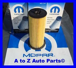 2011 12 Dodge Challenger Avenger Charger Journey Caravan 3 6 V6 Oil Filters OEM