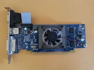 Pegatron Radeon HD6450 1GB GDDR3 PCI Express DVI VGA HDMI Video Graphics Card