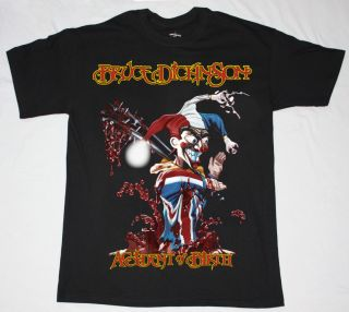 Bruce Dickinson Accident at Birth'97 Iron Maiden Heavy Metal New Black T Shirt