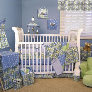 Trend Lab Nantucket Baby Boy Blue Nautical Beach Boat Crib Nursery Bedding Set