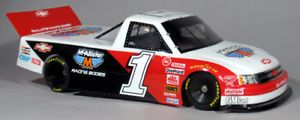 1 10 Chevy Silverado Nastruck RC Truck Body with Decals