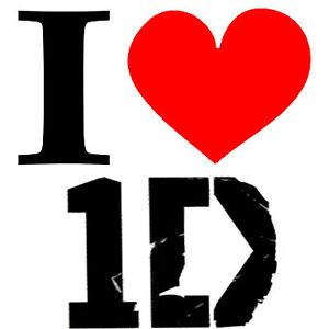 New Screen Printed Tshirt I Heart Love One Direction 1D s 3XL