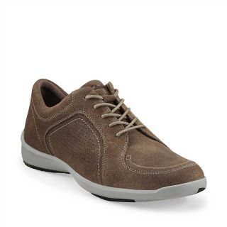 Clarks Wave Transit 61655 Mens Taupe Suede Comfort Lace Up Casual Walking Shoe