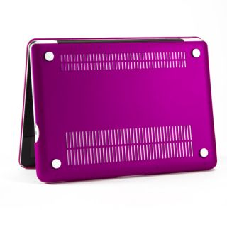 Deep Purple Rubberized Case Screen Protector Keyboard Cover for MacBook Pro 13""