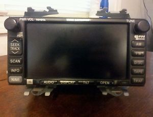 02 04 Toyota Camry JBL Radio Touch Screen Navigation CD and Cassette