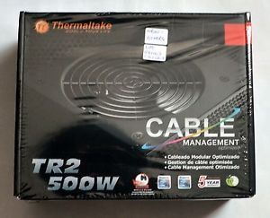 Thermaltake TR 500 TR2 240 Pin 500W ATX Power Supply 120mm Fan New Others