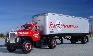 VR Fruehauf Road Star Mack B61 Semi First Gear