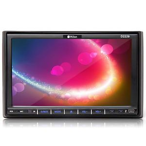 7 in Dash Double 2 DIN HD Car Stereo Radio DVD Player Touch Screen USB SD Video