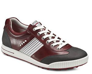 New in Box Ecco Mens Street Sport Golf Sneaker Shoes Port Leather 150574 57663
