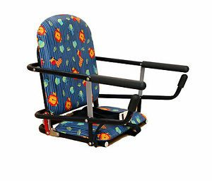 Graco Tot Loc Portable Hook on Table Seat Feeding Chair Blue Jungle Animals