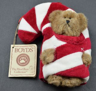 Boyds Bears The Head Bean Collection Lil CC Christmas Collectible Decor Ornament