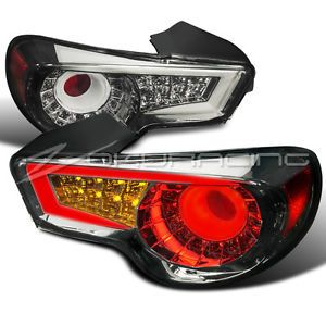 New 2012 2013 Scion FRS Subaru BRZ Smoke LED Tail Lights LED Light Strips