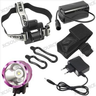 CREE LED XM L T6 LED 1800LUM Bicycle Light Bike Lamp Headlight Headlamp LD127E