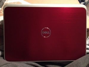 "Dell Brand New Fire Red Laptop 15 6"" AMD A8 Quad Core 8GB RAM 1TB HD"