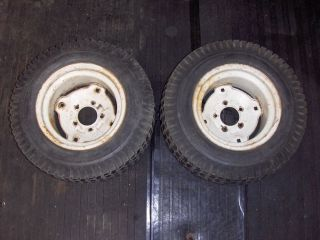 Wheel Horse C101 8SPEED Lawn and Garden Tractor Rear Tires and Wheels