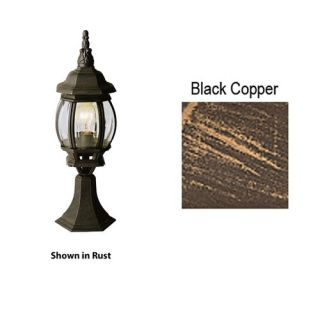 Tuscan Single Light Up Lighting Small Outdoor Pier Mount Post Light from The Out