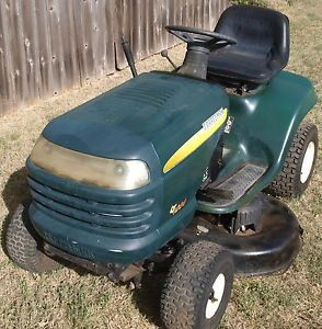 "2005  Craftsman LT1000 16 HP Briggs 42"" Cut Lawn Tractor Riding Mower"