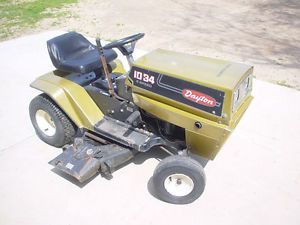 "Dayton 10HP 34"" Riding Lawn Mower Garden Tractor"