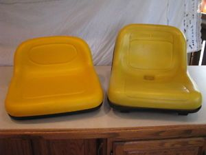 New John Deere Garden Tractor Riding Lawn Mower Yellow Cushion Replacement Seat
