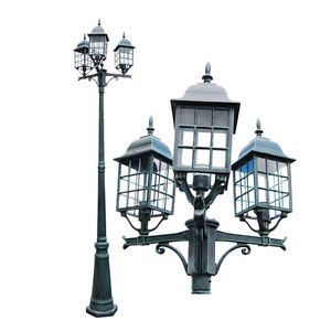 Tall Outdoor Pole Light Garedn Post Lighting Fixture