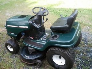 "42"" Craftsman Lawn Tractor Riding Mower"