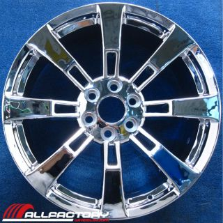 "GMC Sierra Tahoe Yukon 22"" 2012 2013 Chrome Rims Wheels Set Four 5409"