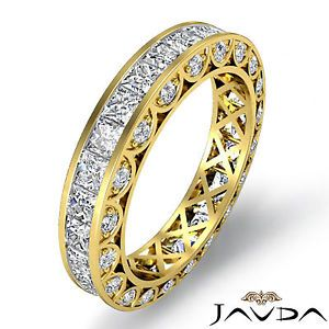Womens Yellow Gold Diamond Wedding Band