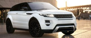 "22"" Land Rover Range Rover Evoque Wheels Rims 5x108 Matte Black Set of 4 New"