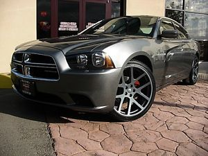 "Dodge Charger New Viper Comp Gray 22"" Wheels Rims Set 4 22 inch Mags Mopar"